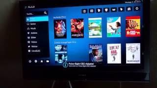 LibreELEC Kodi und Amazon Prime Filme abspielen. Raspberry pi