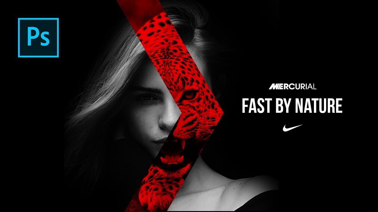 9a1f33498a3b Free Download Nike Born Mercurial Animation & Design - PSD File