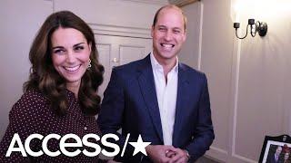 Kate Middleton & Prince William Host Secret Party For Inspirational Teens