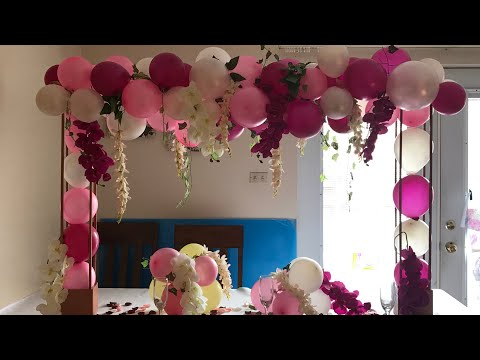 DIY-Birthday & bridal shower Decor |Diy-dollar tree decor| Diy- wedding decor