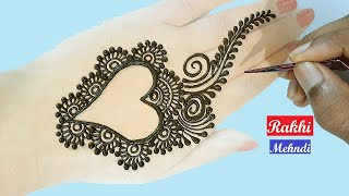 Simple Mehndi Designs for Hands Gol Tikki Mehendi Design simple Arabic mehndi design म ह द लग न