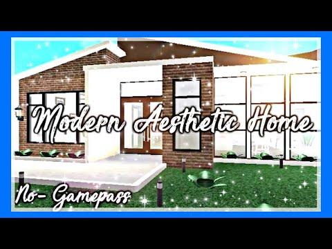 Bloxburg Modern House No Gamepass Modern House