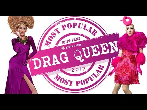 Top 10 Most Popular Drag Queens of 2017 on Social Media