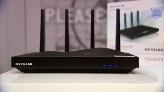 The Netgear NightHawk X8 is one big and expensive router