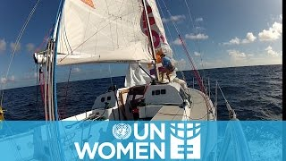 Galia Moss – First Latin American woman to cross the Atlantic Ocean solo