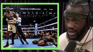Deontay Wilder on His Crazy KO of Bermane Stiverne | Joe Rogan