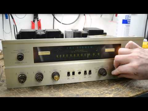 Vintage Tube Fisher 500-C Stereo Receiver