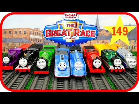 Thumbnail: THOMAS AND FRIENDS THE GREAT RACE #149|Trackmaster Streamlined Thomas|Thomas & Friends Toys Trains
