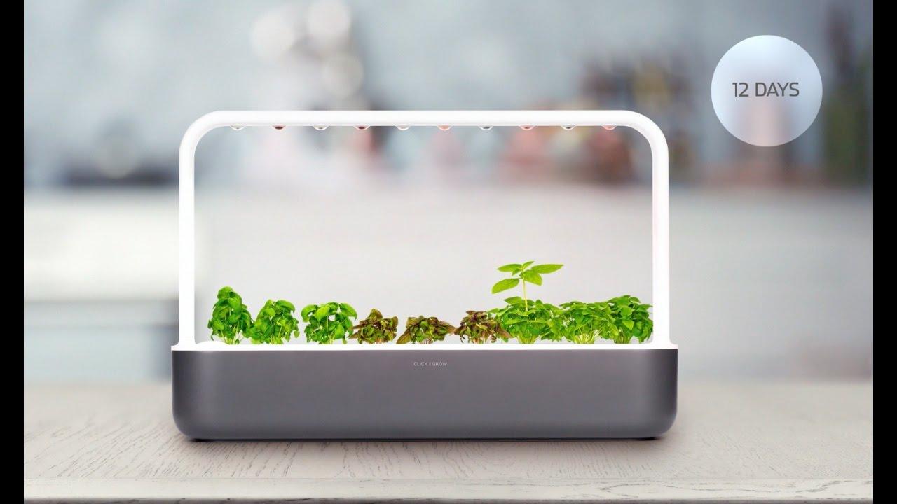 Back The Click Amp Grow Smart Garden 9 On Kickstarter Youtube