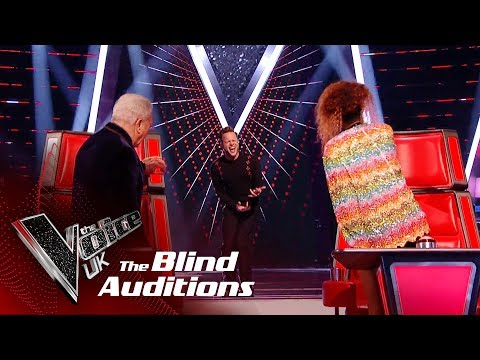 Olly Murs' 'Superstition' | Blind Auditions | The Voice UK 2019
