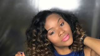 Coloring my Raw Indian Curly Hair