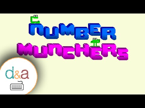 Super Number Munchers (D&A Play) from YouTube · Duration:  6 minutes 40 seconds