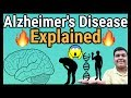 Alzheimer's disease explained   How it is caused?