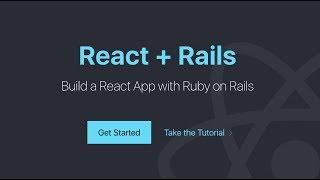 Construire une Réagir Application avec le framework Ruby on Rails