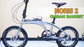 Review sepeda lipat Pacific Noris 2 langsung tampil gagah
