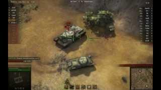 World of Tanks Random - T-50 vs. KV-1 - Pissing him off - Chapter 2
