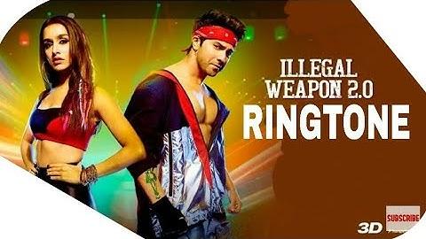 Illegal Weapon 2.0 Ringtone   Street Dancer 3D   Varun D, Shraddha K
