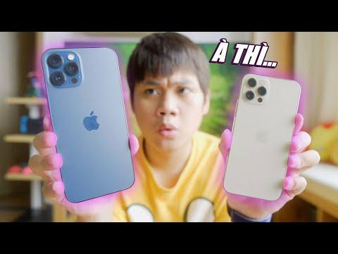 SO SÁNH iPHONE 12 PRO MAX VS iPHONE 12 PRO: MÌNH SẼ THAY ĐỔI QUYẾT ĐỊNH...