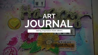 Art Journal - taking inspiration from others
