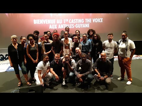 Martinique : C'est le casting FINAL de  THE VOICE aux Antilles !