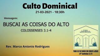 BUSCAI AS COISAS DO ALTO - Colossenses 3.1-4