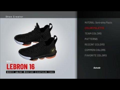 9fa616975af5 I Promise Lebron 16 for NBA 2K19 - YouTube