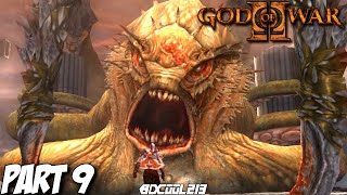 GOD OF WAR 2 GAMEPLAY WALKTHROUGH PART 9 KRAKEN BOSS FIGHT - PS3 LET'S PLAY