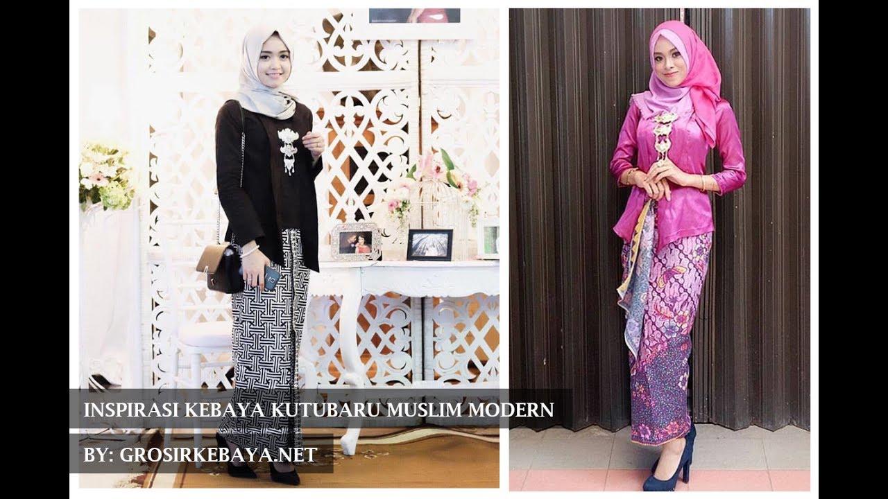 085725275755 Inspirasi Kebaya Kutubaru Muslim Terbaru By Grosirkebaya Net