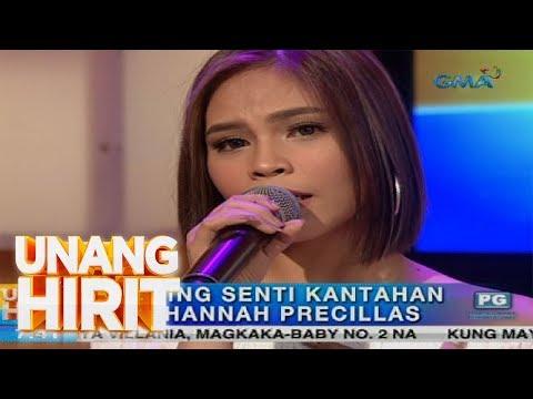 Unang Hirit: Morning Kantahan Feels with Hannah Precillas