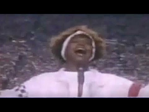 Whitney Houston's Super Bowl moment