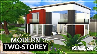 The Sims 4 | House Build • Modern Two-Storey (RE-POST)