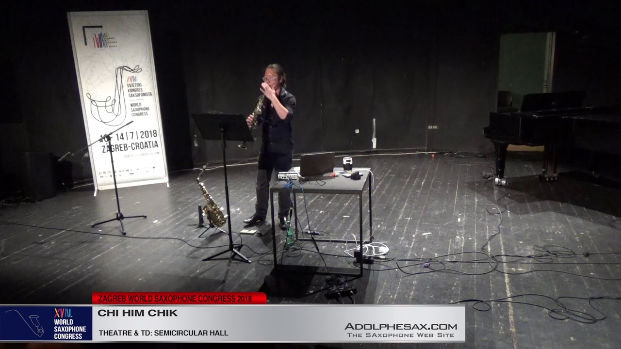 Inexplicable profusion by David P  Landon   Chi Him Chik   XVIII World Sax Congress 2018 #adolphesax