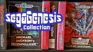 SEGA Genesis Collection 2017 - Game Room Tour 4K