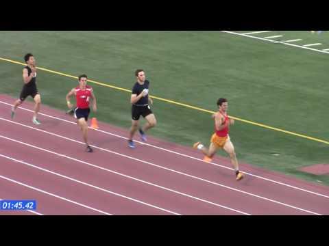 2017 SJS D1 Section Finals - Girls 800m, Boys 800m