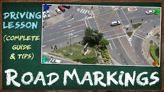 Iba't-ibang Uri ng Road Markings na Makikita sa mga Pangunahing Kalsada Dito sa Pilipinas