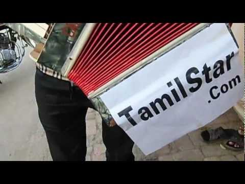Tamil Star at Indian City Street by street musician.