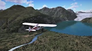 FSX | Bush Flying | Alaska - Kenai Lake