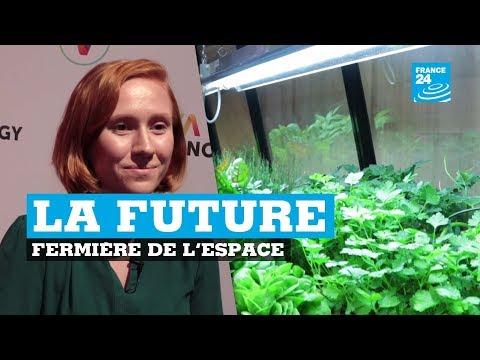 Elle veut faire pousser des fruits et légumes sur Mars