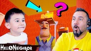 GİZLİ KAPININ ARKASINDA NE VAR?! | HELLO NEIGHBOR #7