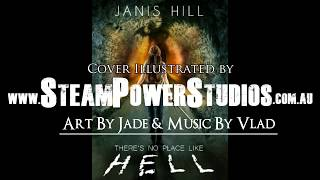Speed painting/Time lapse of book cover for author Janis Hill