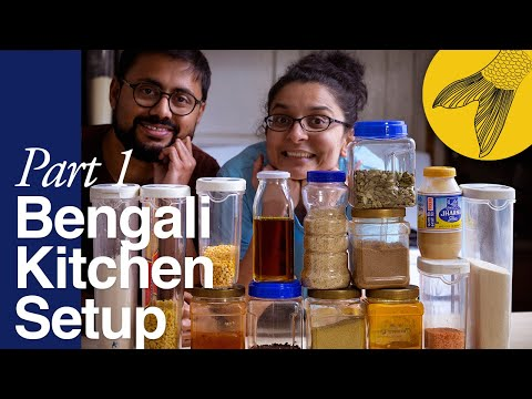 Bengali Kitchen Setup—Part 1: Pantry Essentials