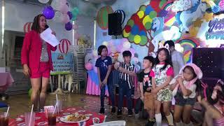 Miss A Hosting Yana Aldave 7th Birthday, Kids Birthday Host,…