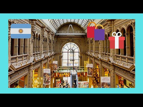 EXPLORING BUENOS AIRES: Beautiful GALERIAS PACIFICO SHOPPING MALL (ARGENTINA) 🛍️