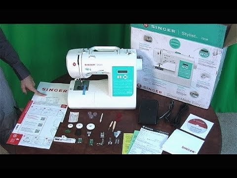 Singer 40 Computerized Sewing Machine Unboxing YouTube Enchanting Singer Stylist 7258 Sewing Machine Reviews