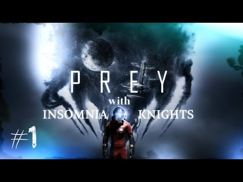Let's Play Prey - Part 1 - Blind Nightmare Difficulty - Through the Looking Glass.