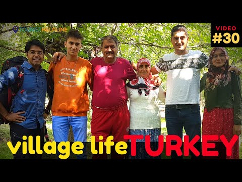 AN INDIAN TOURIST IN A TURKISH VILLAGE. Does it also happen in India?