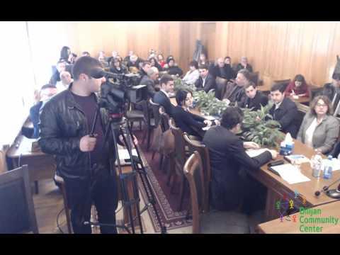 UNESCO GNLC presentation in Dilijan
