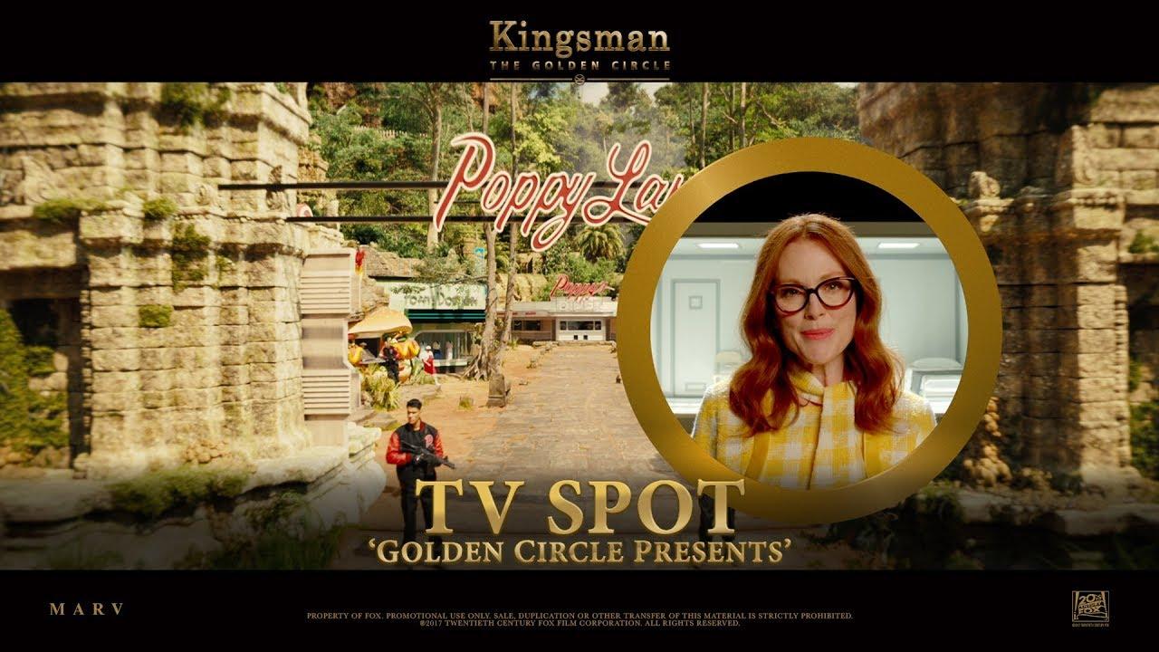 Download Kingsman: The Golden Circle ['Golden Circle Presents' TV Spot in HD (1080p)]