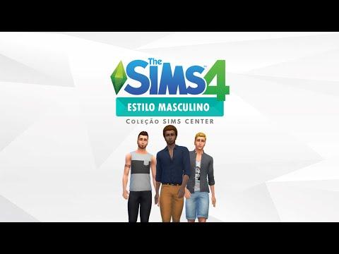 The Sims 4 Estilo Masculino - Coleção Sims Center