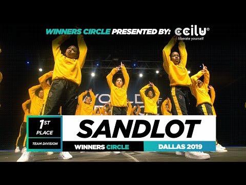 SANDLOT  1st Place Team  Winners Circle  World of Dance Dallas 2019  WODDAL19